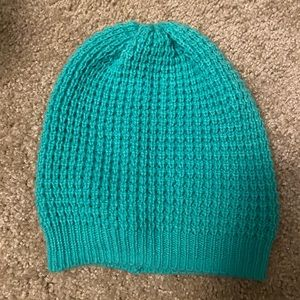 Teal Knit Hat